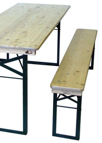 Bänkset 1.80×70 (2 bänkar, 1 bord)