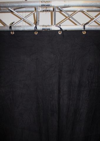 Backdropp svart 3×5 m