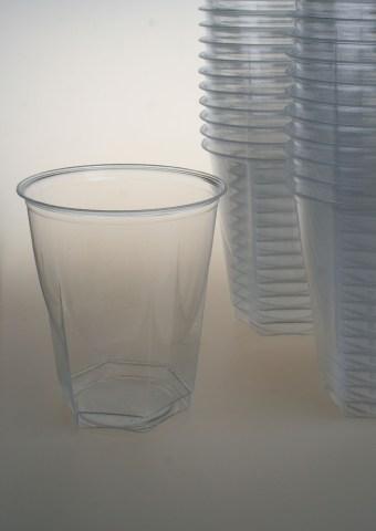 Plastglas, dricks