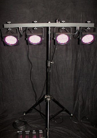 RGB LED-system 4 BAR x 2