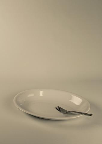 Uppläggningsfat, ovalt 40 cm