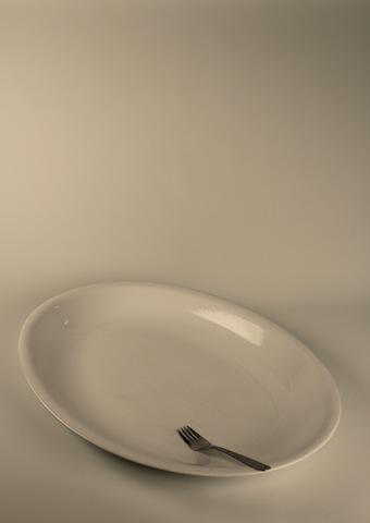 Uppläggningsfat, ovalt 60 cm