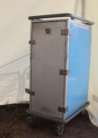 Värmeboxvagn för 12 bleck