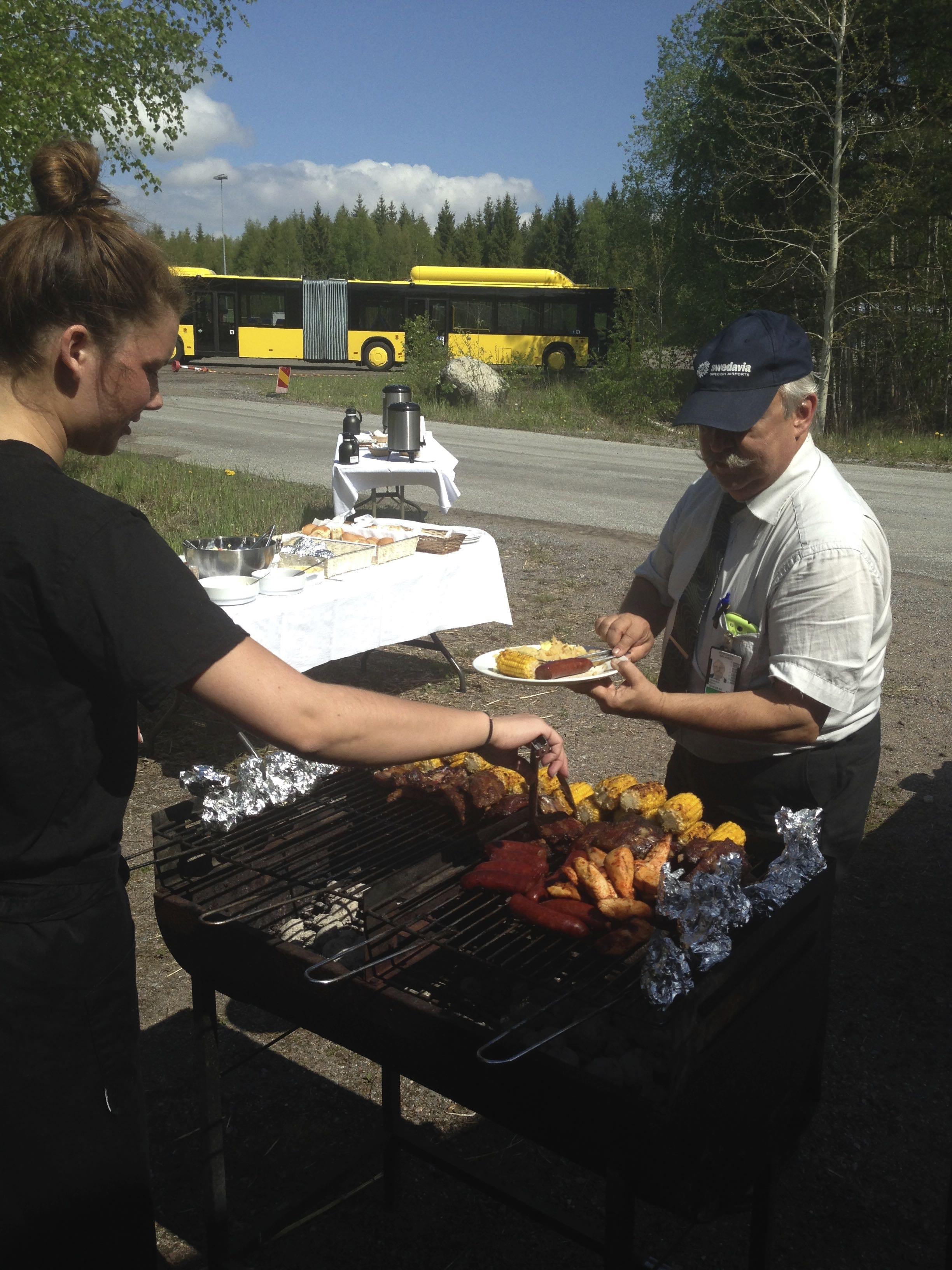 Swedavia grill